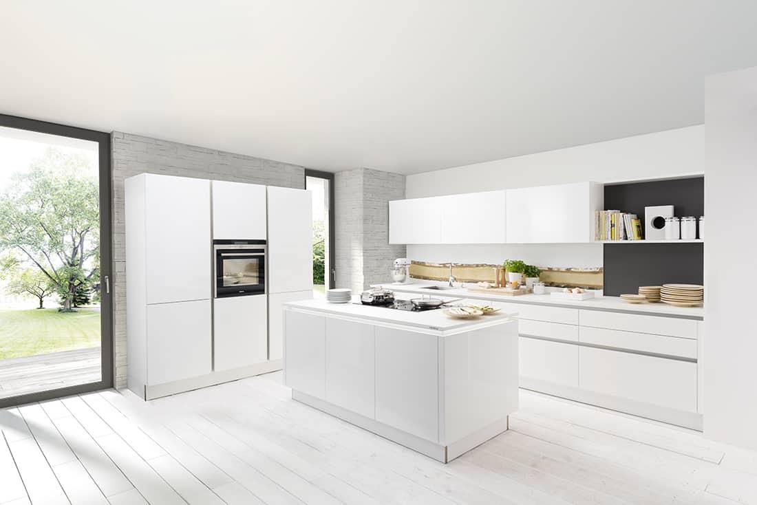 Hoogglans keukens nolte top kwaliteit lage prijs keukenwarenhuis.nl