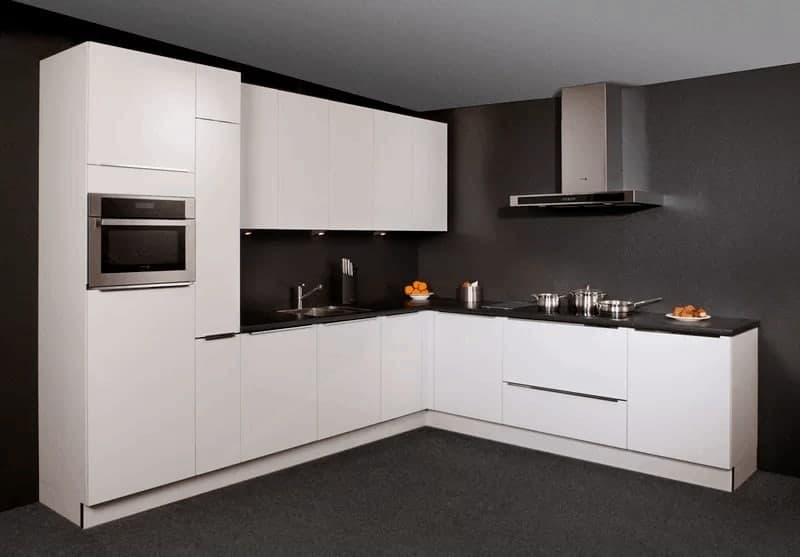 Keuken Zonder Inbouwapparatuur : Voorraadkeukens 1000 keukens op maat gelijk uit voorraad leverbaar!