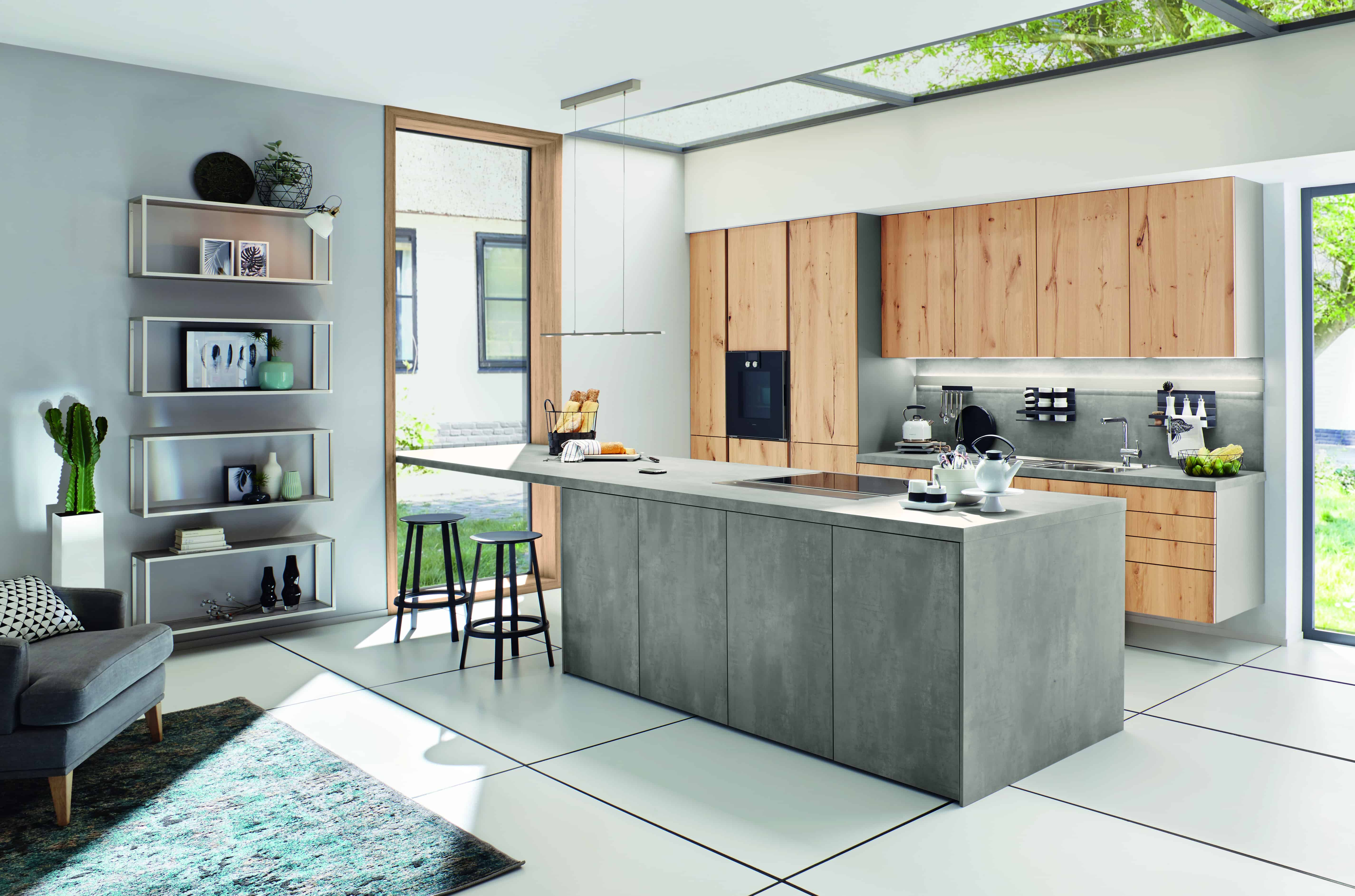 Keukens Half Geld : Betonlook keukens grootste showrooms van nl keukenwarenhuis